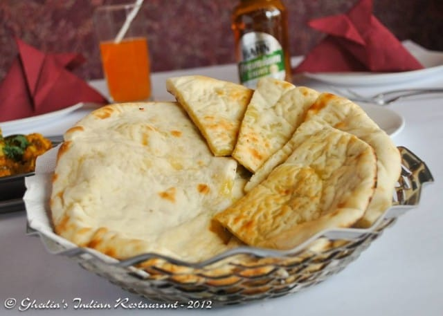 Cheese Naan